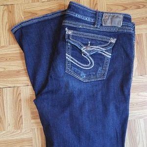 Silver Suki Surplus Plus Size 20 Jeans